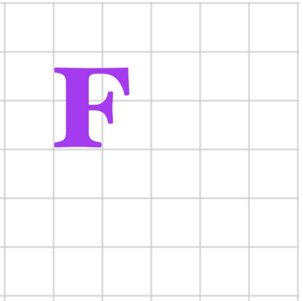 F on a grid