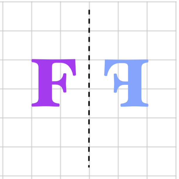 flipping F on the grid