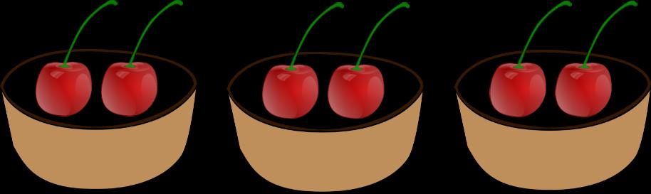 bowls of cherries