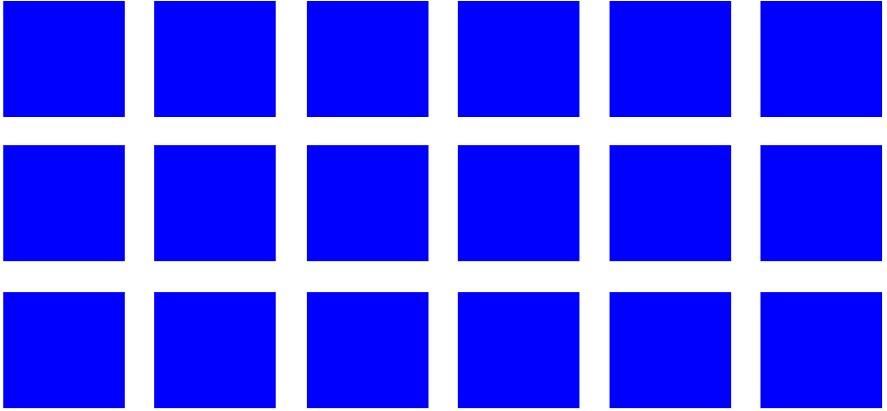array of squares
