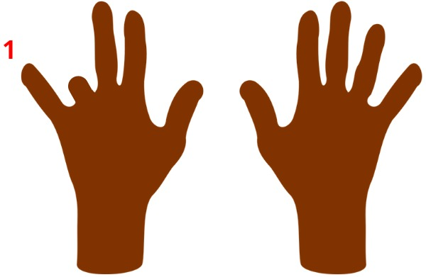 10 fingers