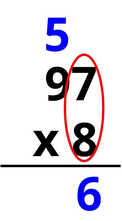97 x 8