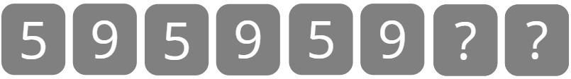 number pattern