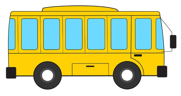 One school bus