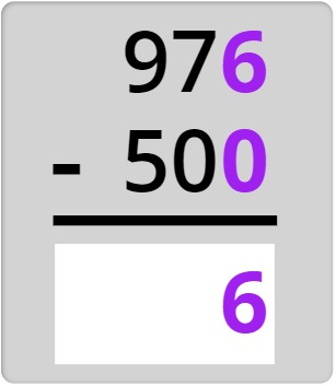 976 - 500