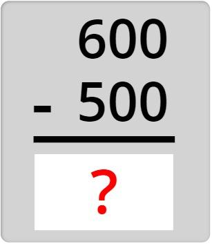 600 - 500