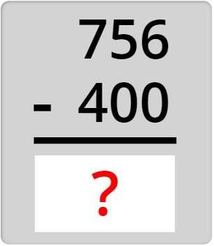 756 - 400
