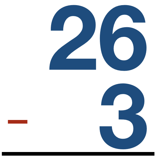 26 - 3