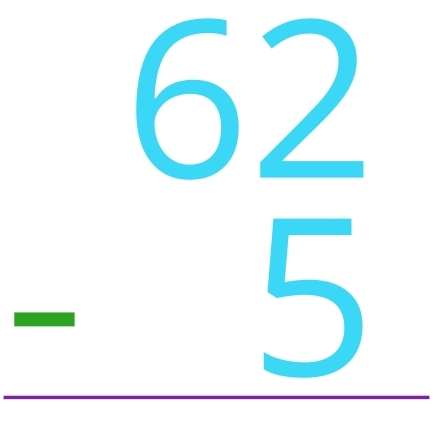 62 - 5