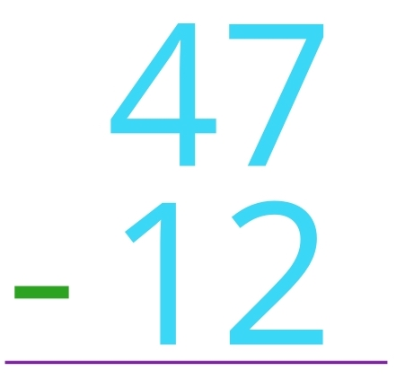 47 - 12