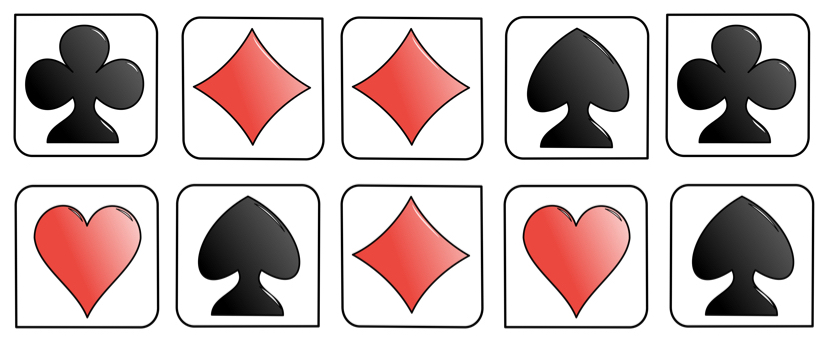 suit of cards