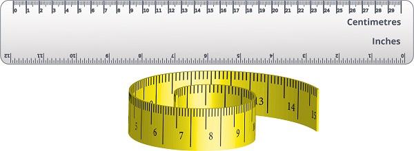 ruler, measuring tape