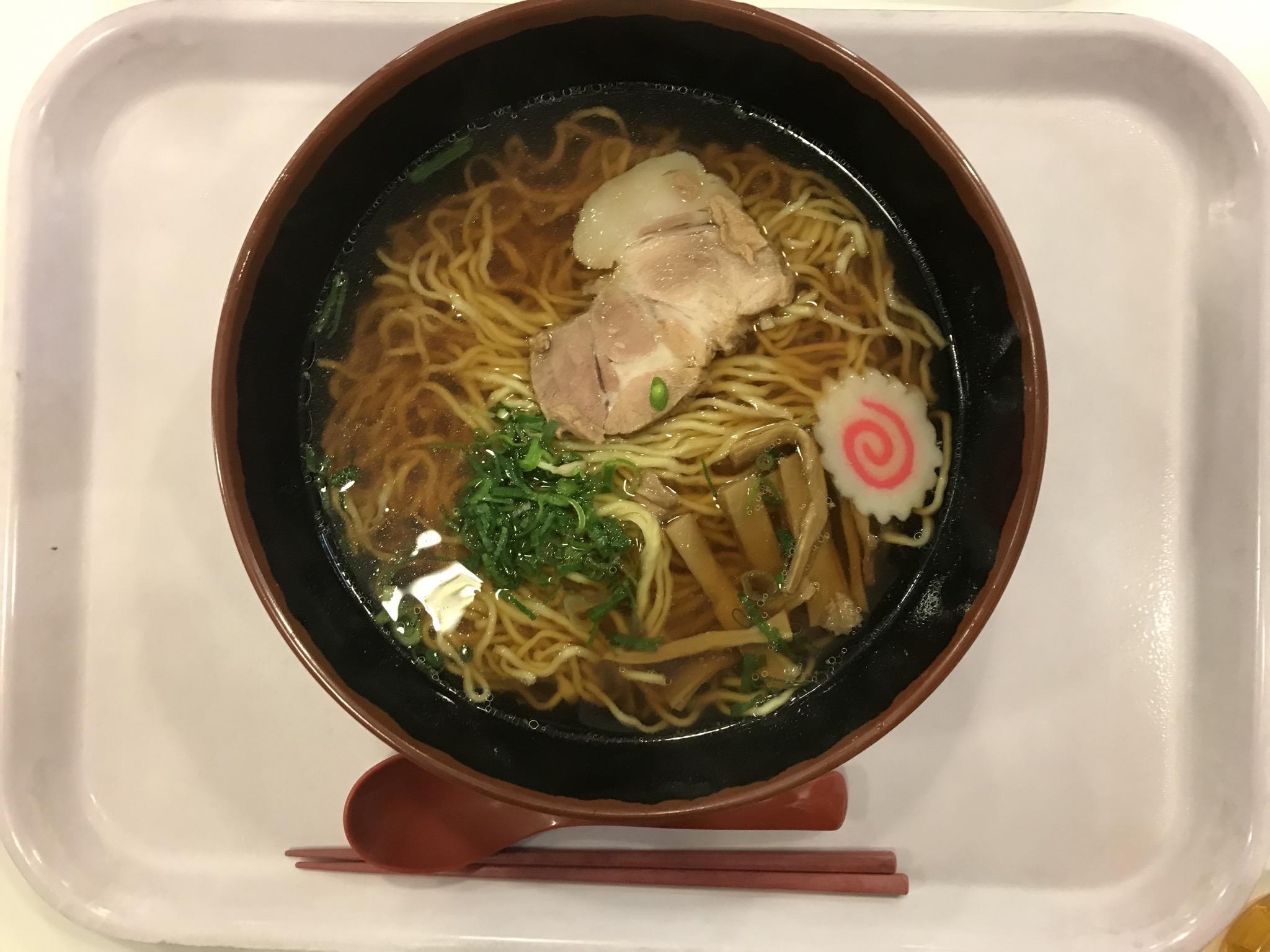 Image of 醤油らーめん(中央大学学食)0