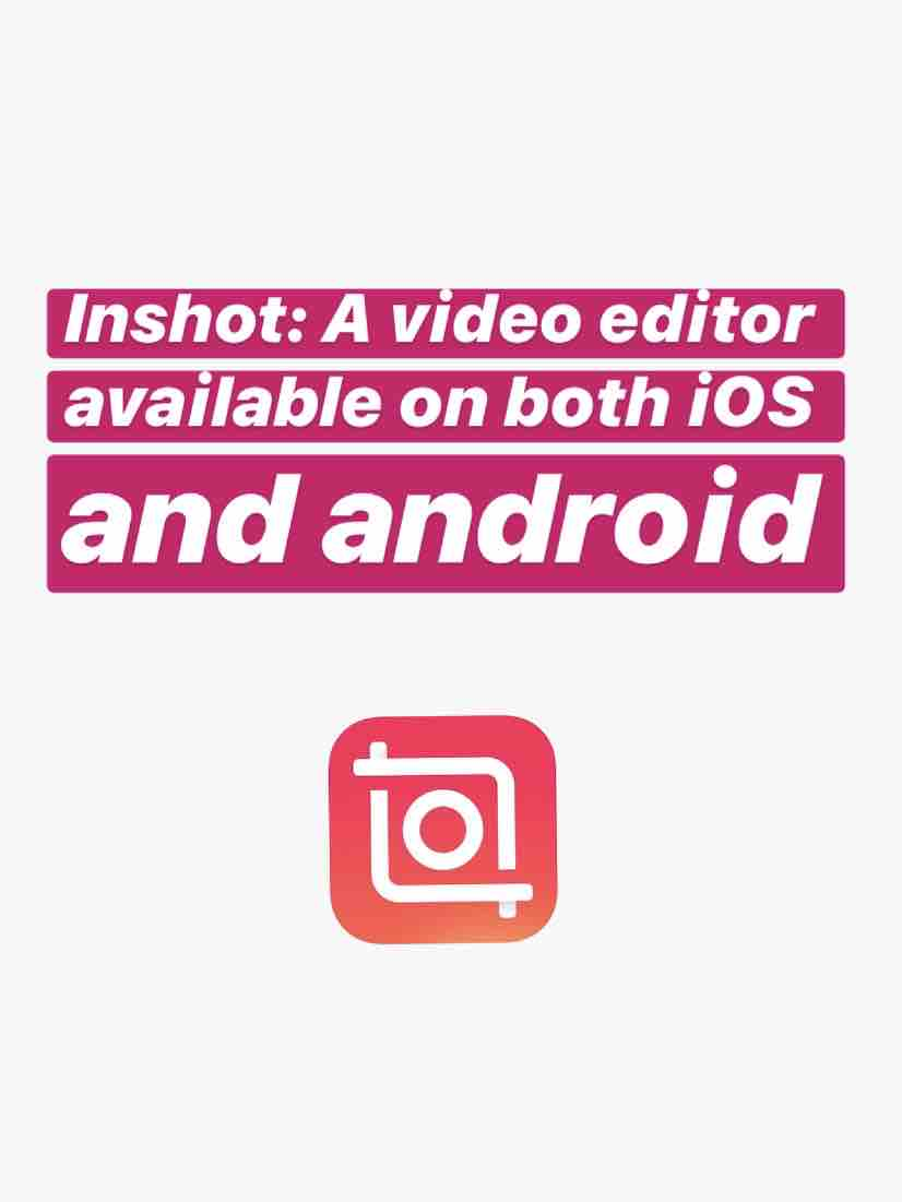 Thumbnail of InShot: a video editor app is awesome!