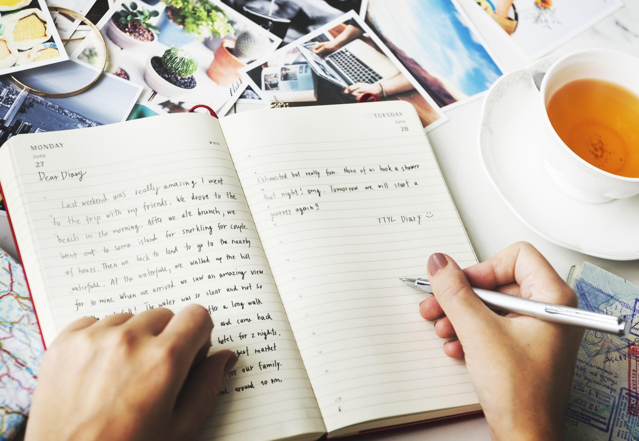 20+ lợi ích của việc viết nhật ký