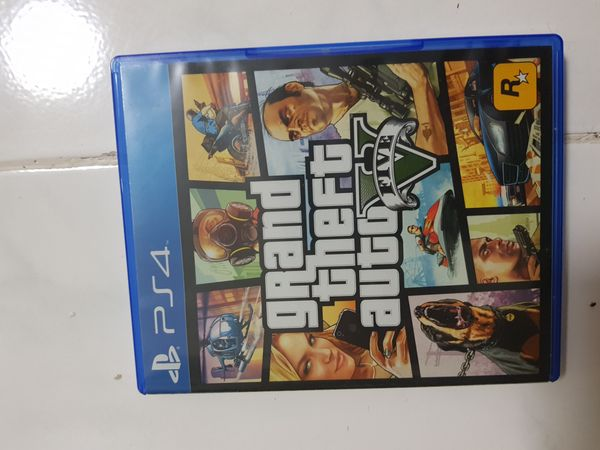 Grand Theft Auto 5 (Ps4 Game)
