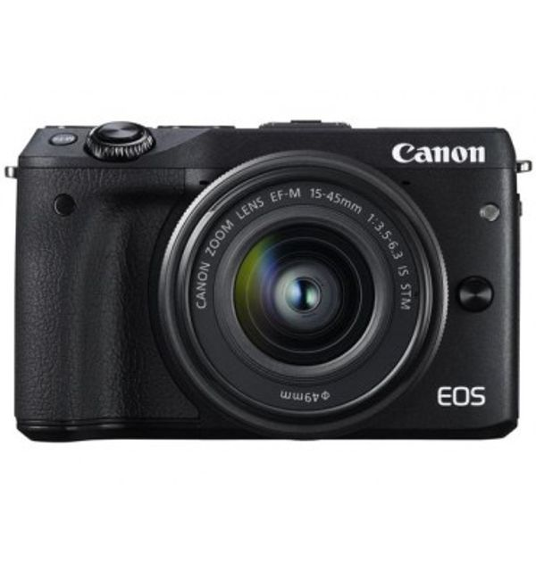 Canon EOS M3 with EFM 15-45