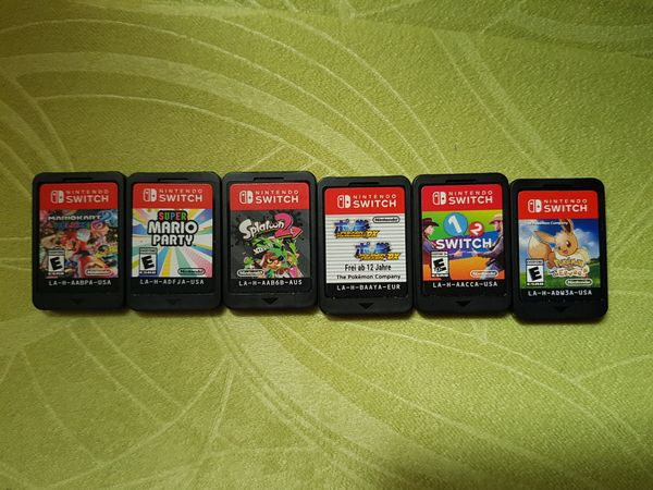 6 Various Nintendo Switch Games