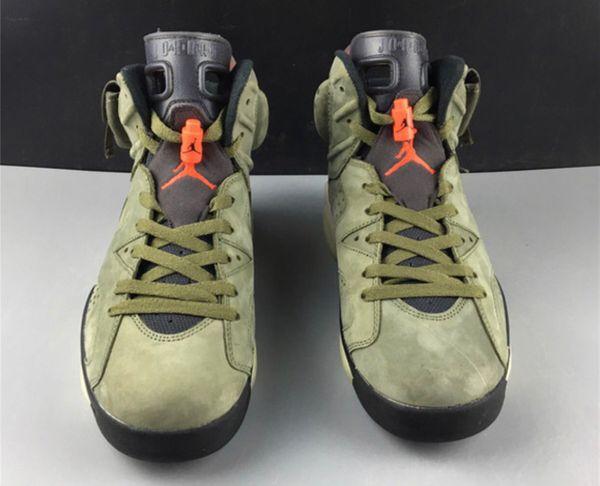 "Travis Scott X Air Jordan 6 ""Cactus Jack"""