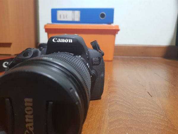 Canon EOS 700D with 18-135mm