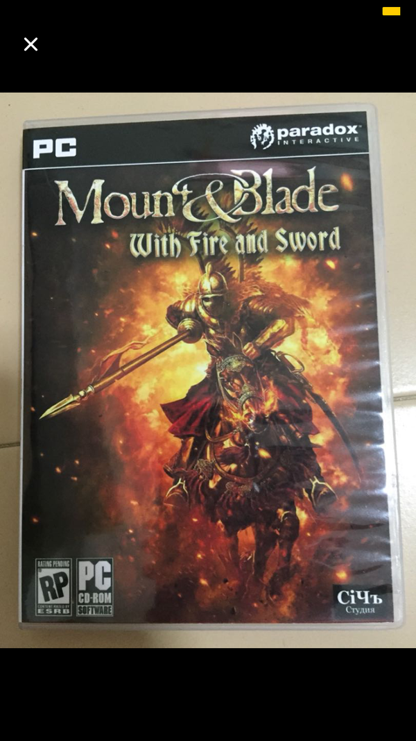Mount and blade:Fire &Sword PC Version