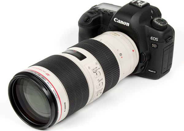 Canon 5D Mark III Set With 16-35mm F2.8L II + 70-200mm F2.8L + Tripod