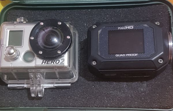 Go Pro Hero 2 Or JVC Action Cam
