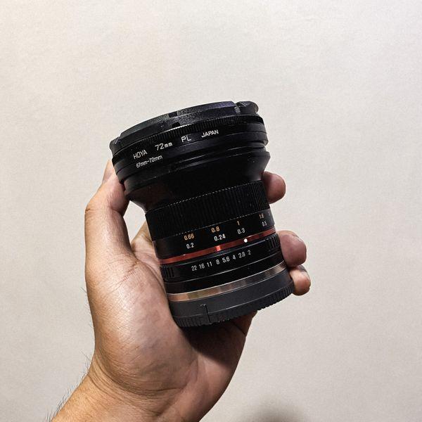 Samyang 12mm f2 E-Mount