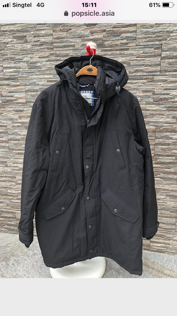 Winter Down Jacket,  S, M, L, XL