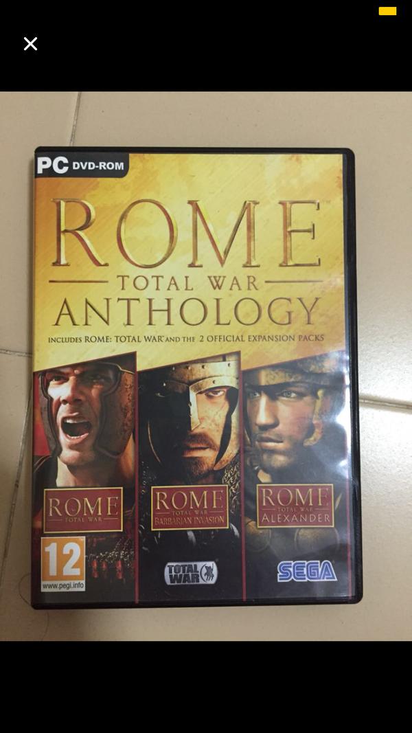 Rome Total War:Anthology PC Version