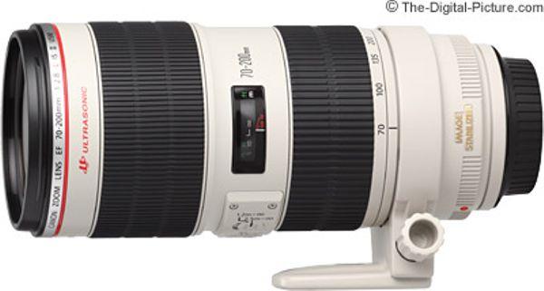Canon EF 70-200mm F2.8 IS II USM