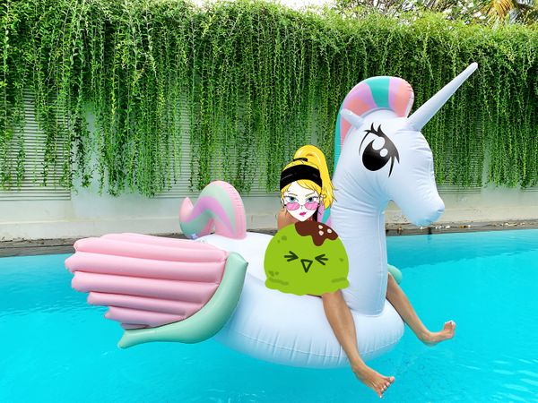 Unicorn / Pegasus Float