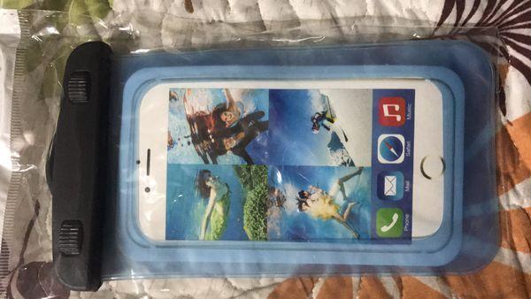Phone waterproof holder