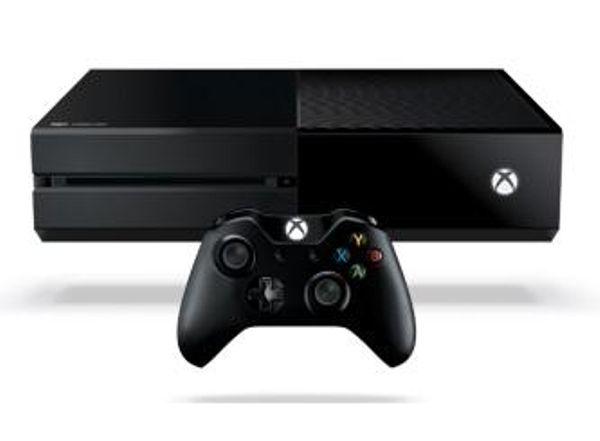 Xbox one console with 2 controllers