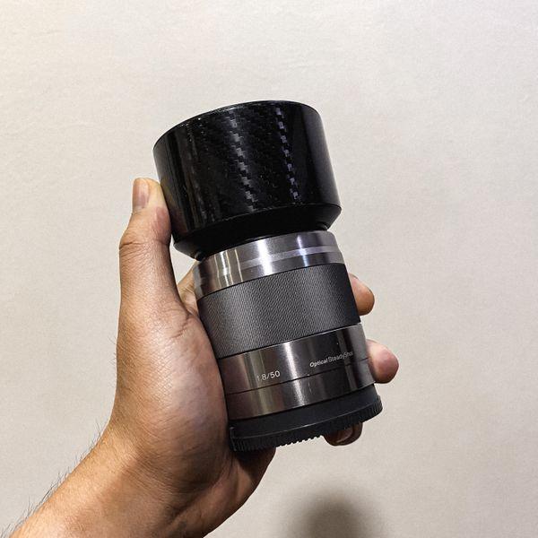 Sony 50mm f1.8 E-Mount