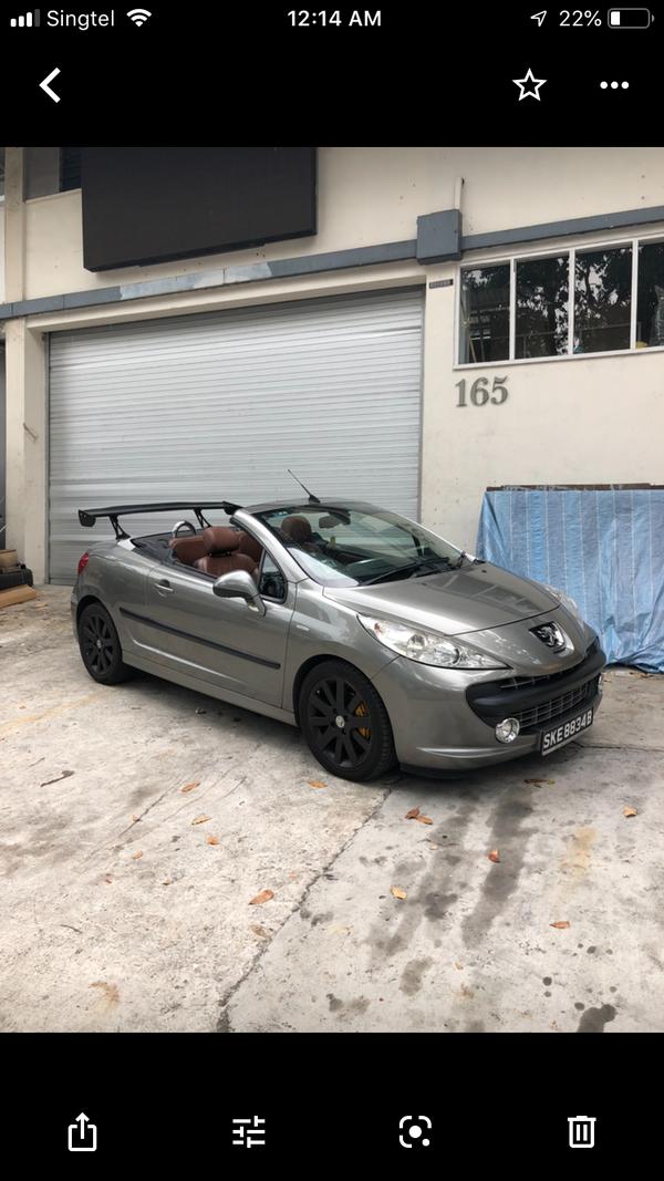 Peugeot Convertible 207cc