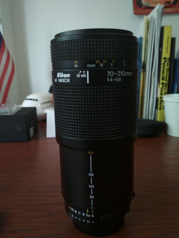 Nikon Nikkor 70-210mm F4-5.6 Zoom Lens