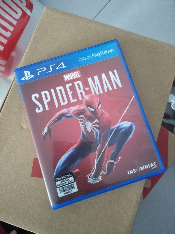Spiderman 2018 Ps4