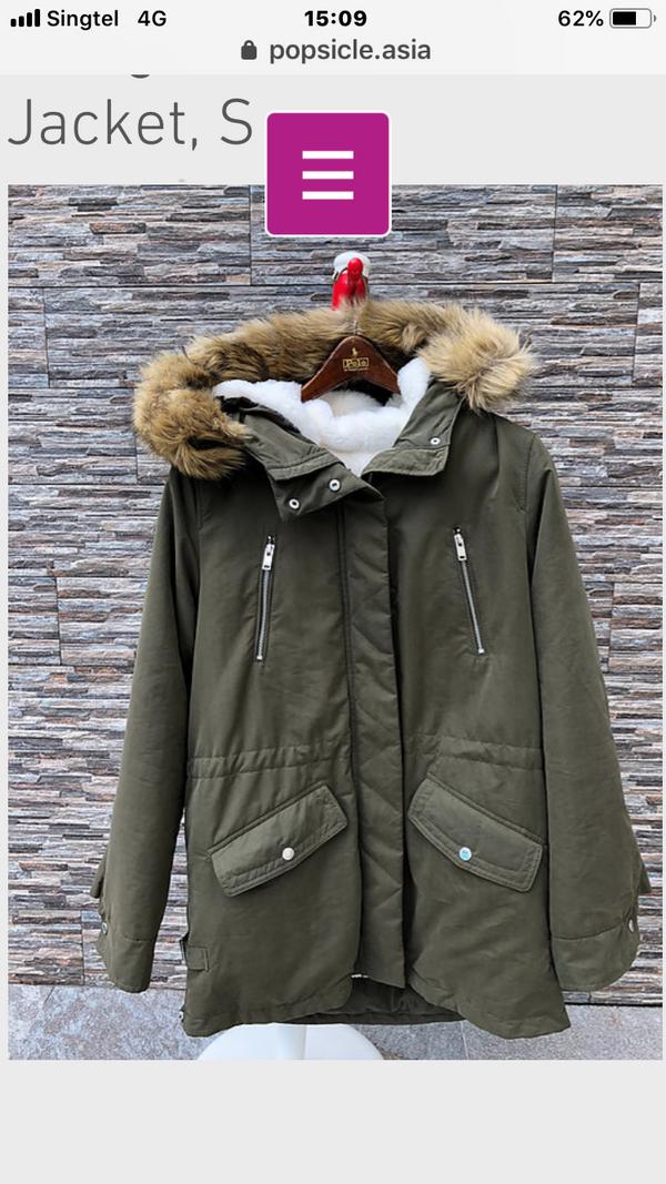 Mango Winter 3in1 Jacket,  S, M, L, XL