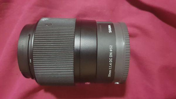 Sigma 30mm F 1.4