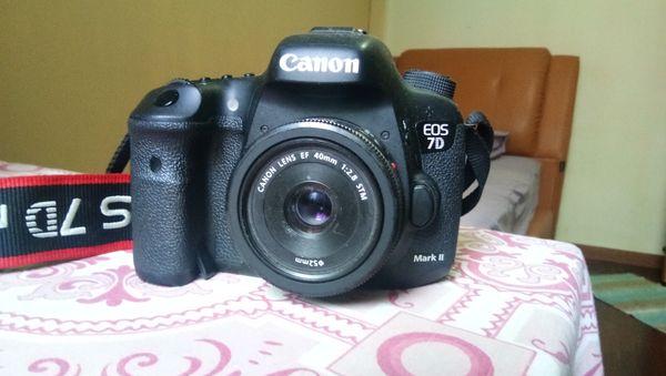 Canon 7d Mark ii DSLR Camera