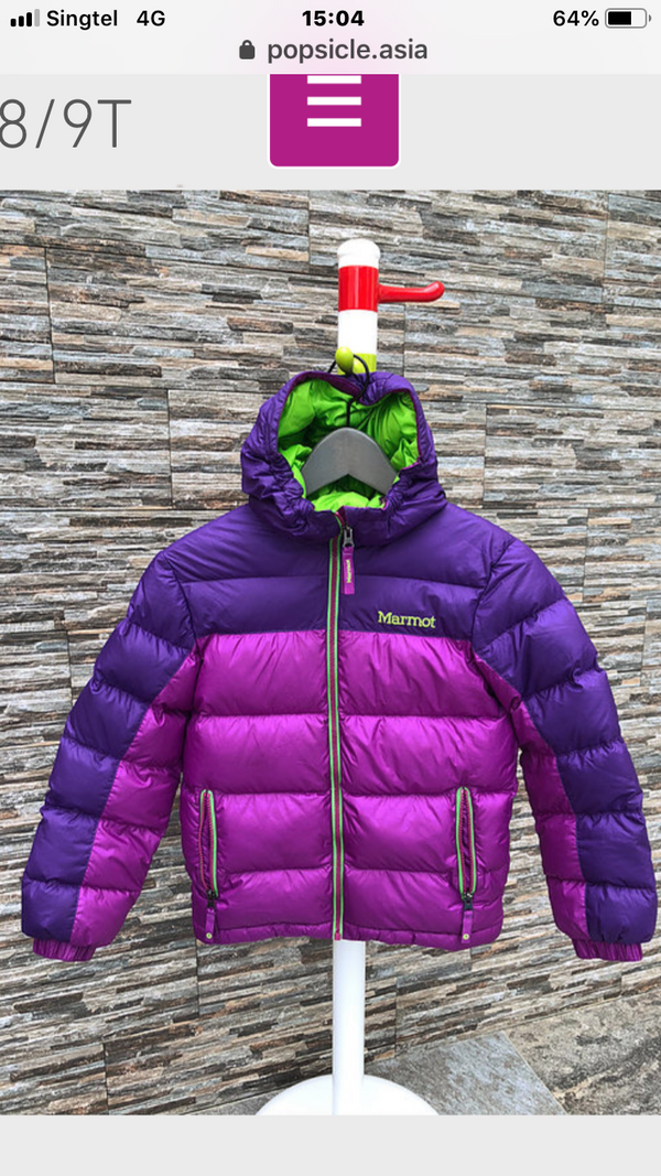 Marmot Down Jacket for Kids