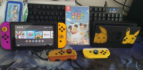 Switch With Dock Plus Extra Controller & Games
