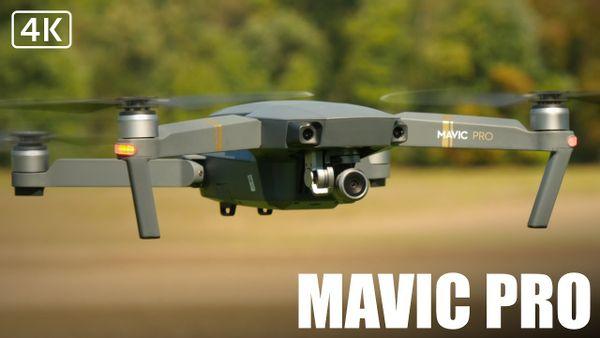 DJI Mavic pro + 6 batteries