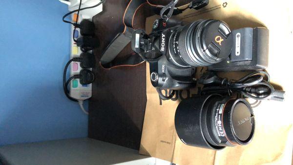 Sony a230 DSLR Camera 10.2 Mega Pixels