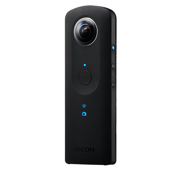 Ricoh theta s 360 camera for photo and video
