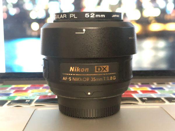 Nikon 35mm 1.8G AF-S DX Lens