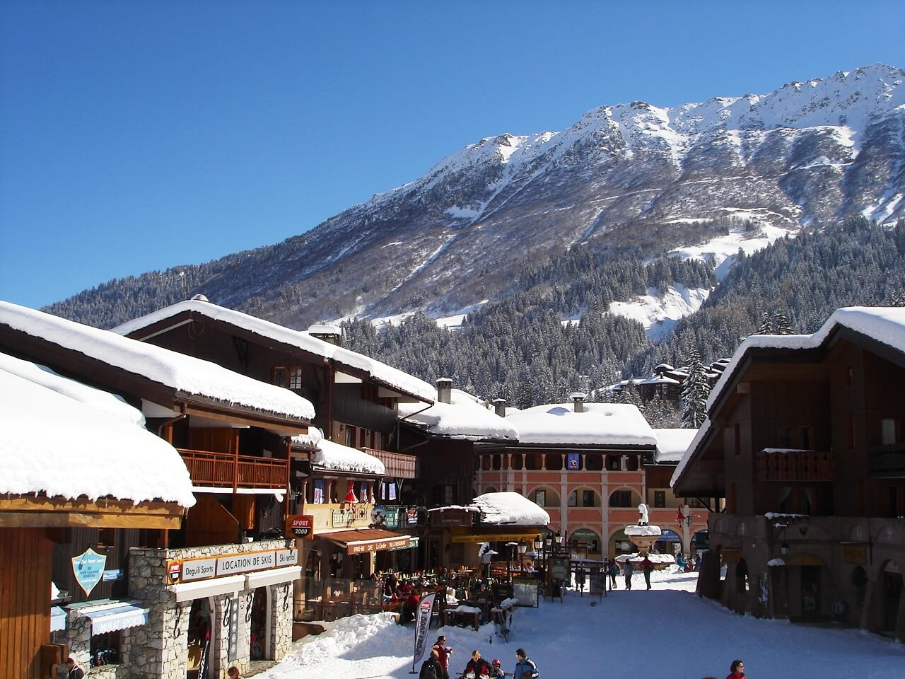 Holiday Rentals in Les Avanchers-Valmorel