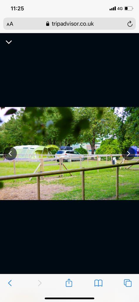 Location: Laurel park campsite