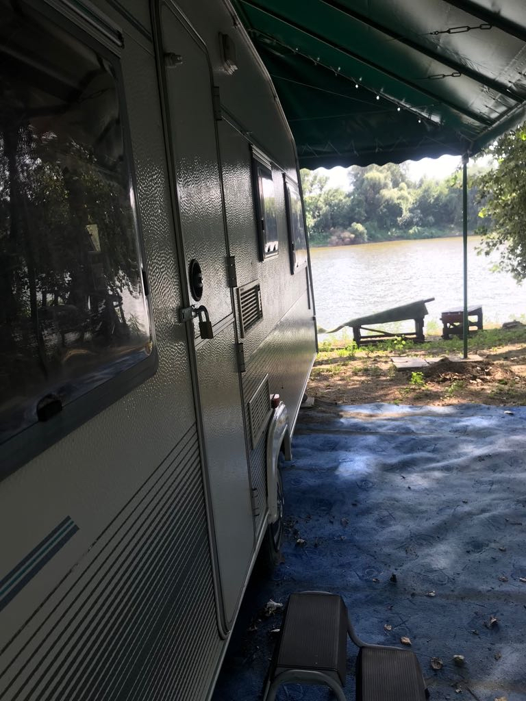 Location: Tisza-part wild camping